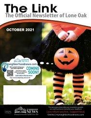 Lone Oak October 2021
