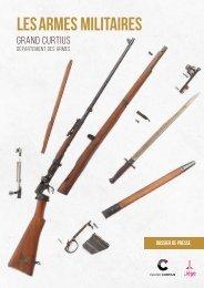 Nouvelle section des armes militaires du département des armes du Grand Curtius