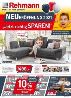 Neueröffnung 2021 bei Möbel Rehmann