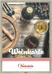Weinkarte Oberhabach