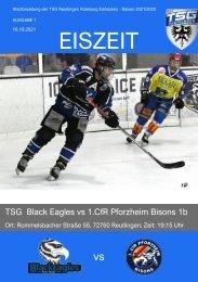 TSG Black Eagles vs. Pforzheim Bisons 1b 10 10 2021