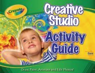 Crayola® Creative Studio - Core Learning