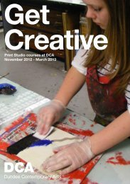 Print Studio courses at DCA November 2012 - March 2013 - Dundee ...