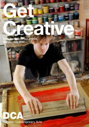 Get Creative - Dundee Contemporary Arts