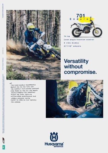 HQV 701 Enduro Dirt and Trail Sept 2021