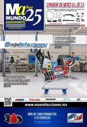 Mundo Automotriz La Revista No 307 octubre 2021
