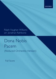 Vaughan Williams - Dona Nobis Pacem (Reduced Orchestra Version)