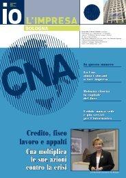 io l'impresa ottobre 2009 - CNA Informa