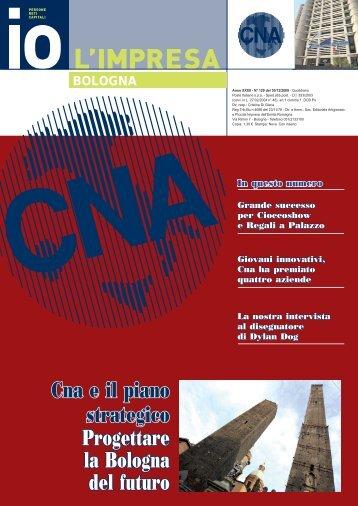 DICEMBRE 2009 IO LIMPRESA BOLOGNA.indd - CNA Informa