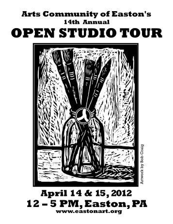 OPEN STUDIO TOUR - ACE - The Arts Community of Easton