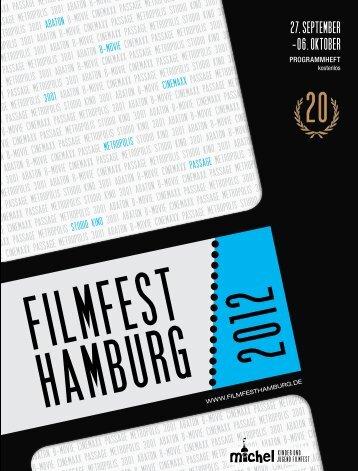 Programmheft - Filmfest Hamburg