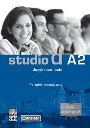 Poradnik metodyczny studio d A2 - BC EDUKACJA Sp. z oo