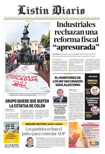 Listín Diario 13-10-2021