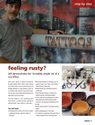 How to add a 'rust effect' to dimensional objects and letters - Resene