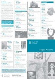 Sculpture leaflet 2009 - Jacek Wankowski ¦ Home