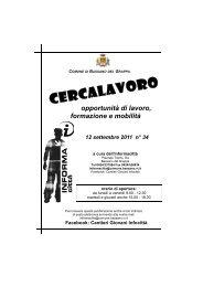consulenza individuale - Gestionale Informagiovani
