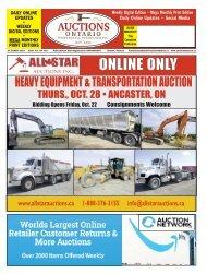 Woodbridge Advertiser and Auctions Ontario - 2021-10-13