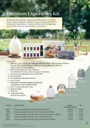 Premium Experience Kit Flyer
