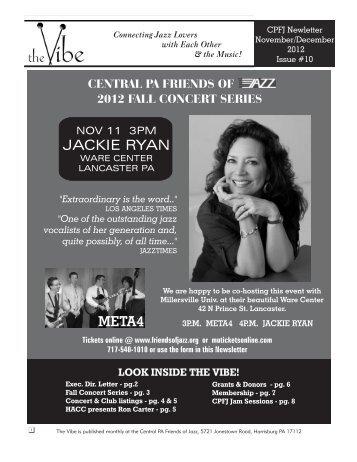 JACKIE RYAN META4 - Central PA Friends of Jazz
