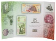 Mexiko Banknoten-Satz: 100 & 200 Pesos