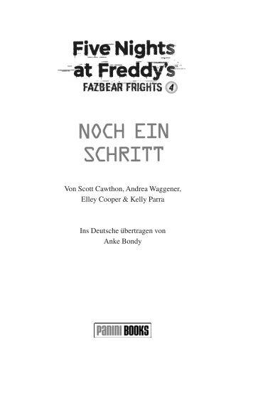 Five Nights at Freddy's - Fazbear Frights 4 - Noch ein Schritt (Leseprobe)