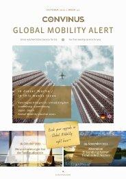 CONVINUS Global Mobility Alert Week 41