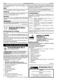 Jahreskonzert 2012 - Vereinsring Kleinostheim