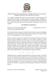 Dispositivo sentencia caso Odebrecht