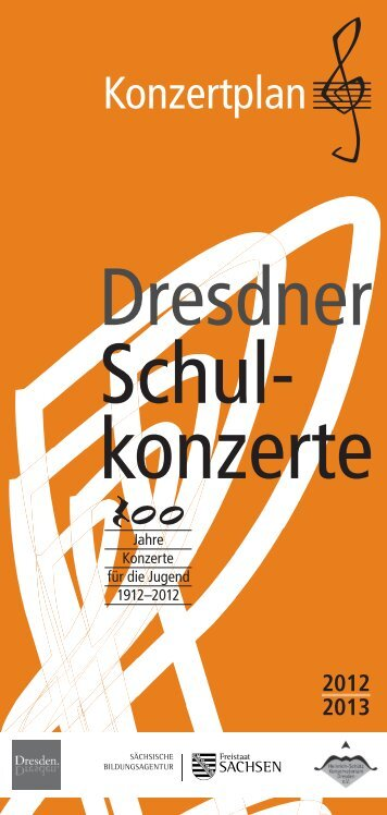 Unterrich tsbegleitende Konzerte - Dresdner Schulkonzerte