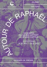 Dossier de presse Raphaël
