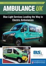 Ambulance UK October 2021