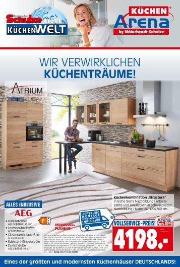 Atrium in der Küchenarnea