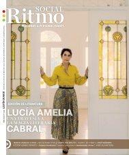 Ritmo Social OCTUBRE 2021 Portada  Lucía Amelia Cabral