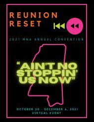 2021 MS Nurses Association Annual Convention