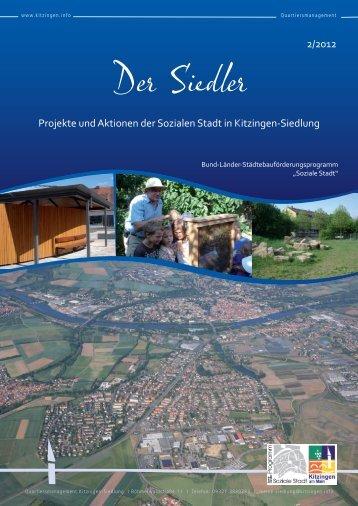 """Der Siedler"" Ausgabe 2/2012 - Kitzingen.info: Home"