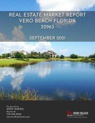 Vero Beach 32963 Real Estate Market Report September 2021