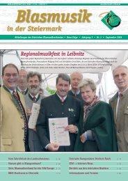 Regionalmusikfest in Leibnitz - Steirischer BLASMUSIKVERBAND