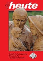 2011/1 - Föderation der Barmherzigen Schwestern