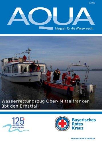 Bayerisches Rotes Kreuz Wasserrettungszug Ober ... - Wasserwacht