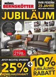 Möbel Bernskötter - KW42 - Jubiläum