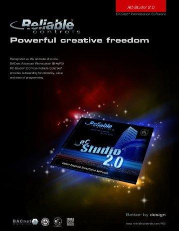 RC-Studio® 2.0 - Reliable Controls