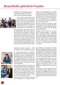 Einblicke in die Arbeit der CaritasStiftung Lebenswerk Zukunft - Seite 6