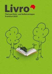 !AYCON Anzeige !AYCON zur im  LIVRO KATALOG zur Frankfurter Buchmesse 20. - 24. Oktober 2021