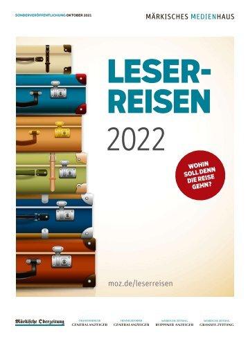 SV Leserreisen 2022