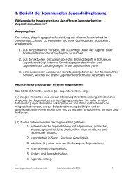 Stand November 2004 - Kommunale Jugendarbeit Neckarsulm