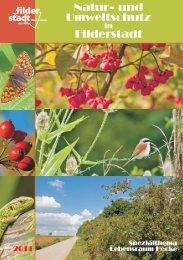 Natur- und Umweltschutz Filderstadt - Stadt Filderstadt