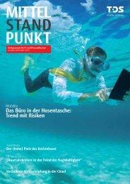 Das Büro in der Hosentasche: Trend mit Risiken - TDS AG - Fujitsu