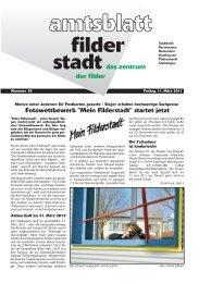 Sa 19. - Stadt Filderstadt