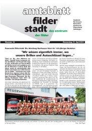 2012 ist da. Ihr Kultur-Abo - Stadt Filderstadt