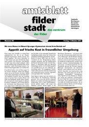 Sa 08. - Stadt Filderstadt